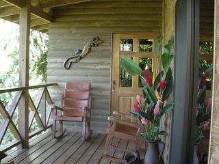 Quepos cabin photo - Outside Deck