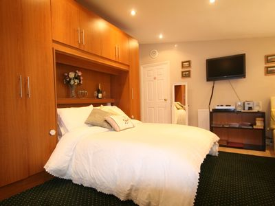 Brixham apartment rental - Very comfy super king size bed