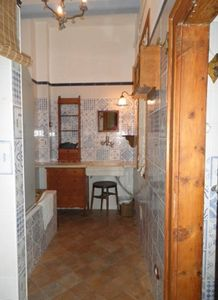 Full Bathroom/shower with Catalan tiles