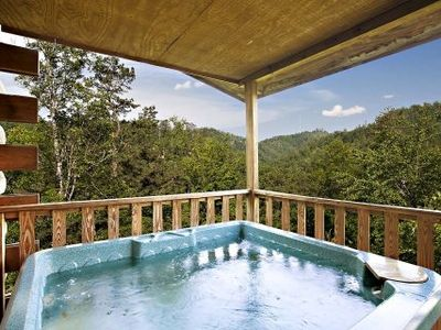 Upper Deck Hot Tub and Shields Mountain View