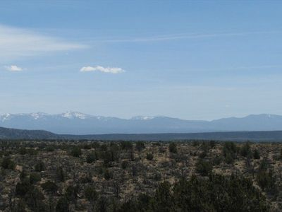View of Sangre de Christo Mountains.