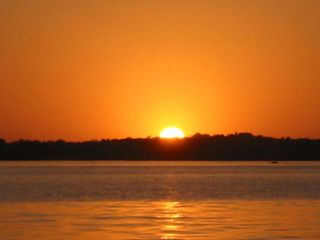 Horseshoe Bay house photo - Just one of many beautiful Lake LBJ sunsets