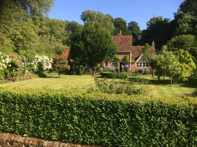 Charming country cottage in a very quiet village in Dorset. 5 large doubles.
