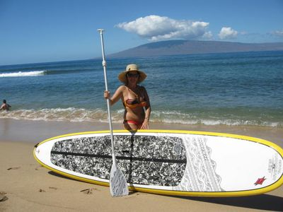 rent a stand up paddleboard just 10 minutes away!