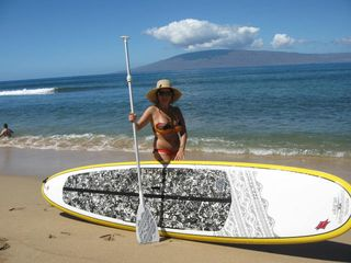 Keauhou studio photo - rent a stand up paddleboard just 10 minutes away!