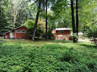 Woodstock estate photo - Guest Cottage and Main House