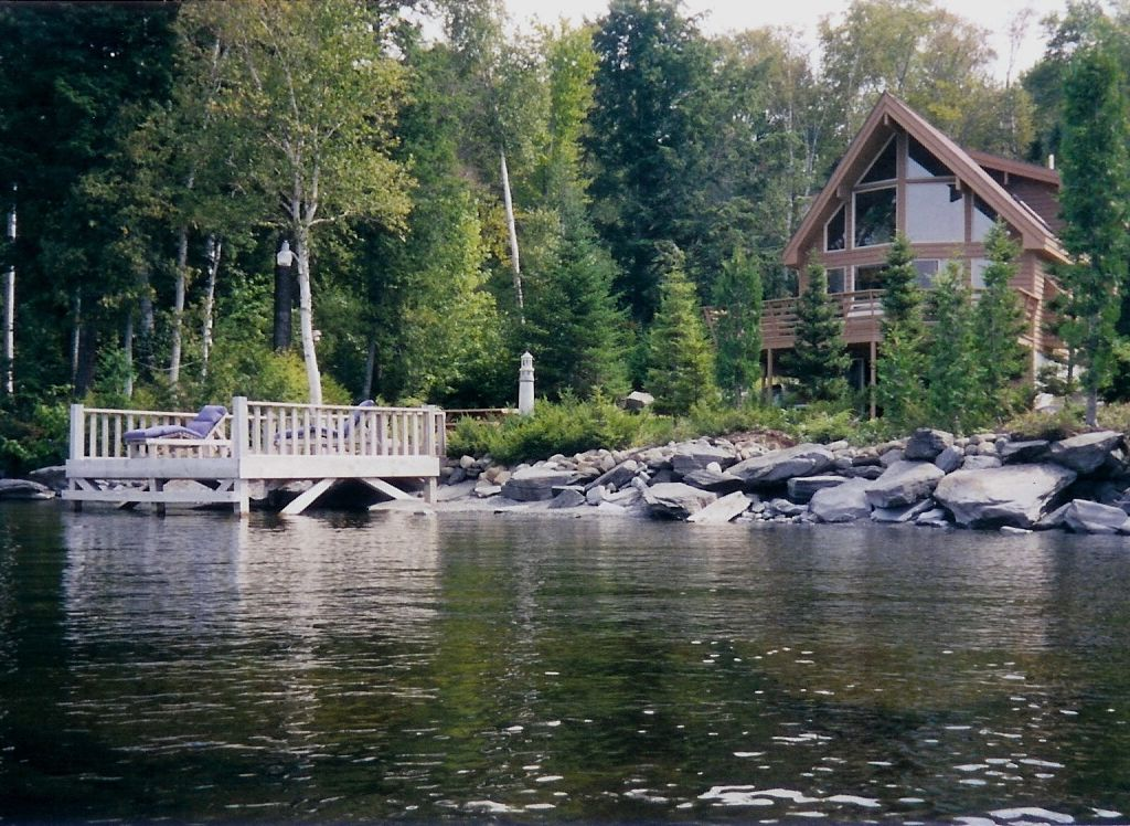 Moosehead Hideaway Custom Built Waterfront Vrbo