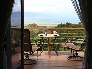 Makawao studio photo - Studio Breakfast & Stargazing Deck