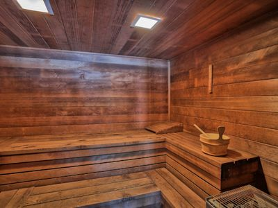 Sauna at the Stonybrook Clubhouse. Great after a long day of skiiing or hiking!