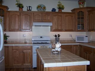 Williams Bay house photo - Big Kitchen fully equipped, with enough dishes for your family reunions.