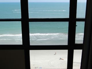 Sun n Sand Resort hotel photo - View from window