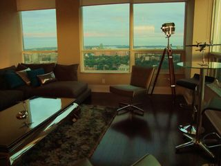 Toronto condo photo - LIVING ROOM SOUTH VIEWS