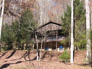 Lake Fontana house photo - Dogwood Ridge in late Fall