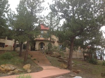 Colorado Springs villa rental - Magnificent 8400 sq ft. Mediterranean Villa on 2.5 wooded acres
