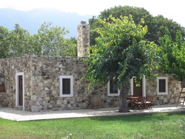 Kos cottage rental - the front of the cottage