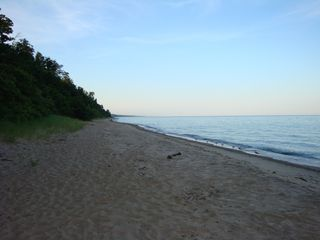 South Haven cottage photo - Private beach