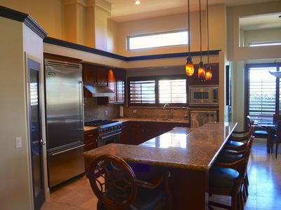 Gourmet Kitchen with Viking Appliances and Walk-in Pantry