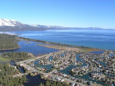 Tahoe Keys house rental - Tahoe Keys is the Finest Private Waterfront Community on Lake Tahoe. Sunny!