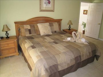 After a long day of fun relax in the privacy of you own Master Bedroom!!