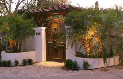Gated entry with code