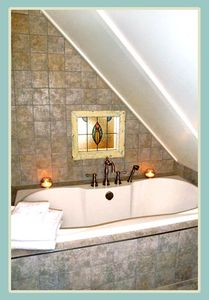 Luxuriate in your 6' Soaker Tub