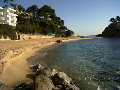 'Yes, this really is the view!' 2 beach apartments, Costa Brava, each sleeps 6