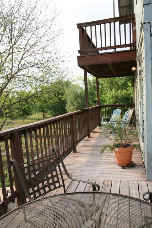 Wrap around deck with beautiful river view