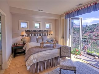 Sedona condo photo - Romantic King Bed and Private View Balcony