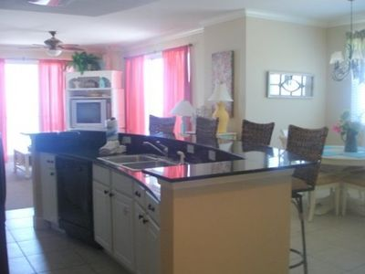 View of Kitchen/ Dining Room/ Living Room