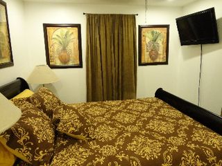 4th Bedroom, Queen Size Sliegh Bed, with Flat Screen TV - Gulfport house vacation rental photo