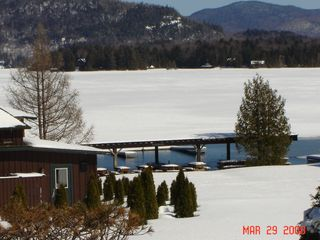 Lake Placid condo photo - Winter View from Condo