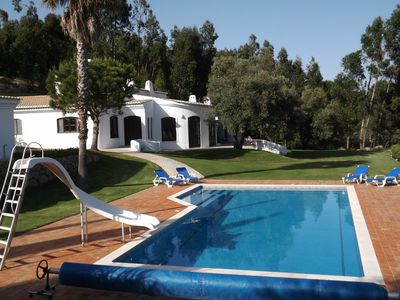 Mountainside Villa In Lanscaped Gardens & Lush Woodlands w/Great Views & Pool