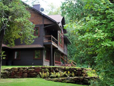 Enjoy Our Beautiful 4 Bedroom Lake Home Nestled Amongst The Trees On Trout Lake