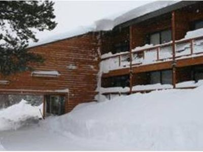 Winter paradise in the heart of Tahoe Donner Lodge Condominiums!