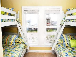 North Topsail Beach house photo - Bunk room sleeps 6. Beds are 6 feet 6 inches long