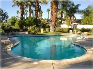 Heated pool and spa - just around the corner from the house!