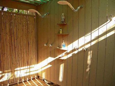 Inside Outdoor Shower