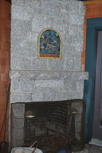 Brunswick chateau / country house rental - The outdoor fireplace