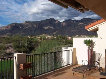 Tucson townhome rental - View from deck