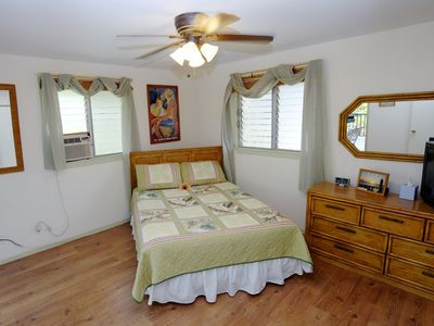 Master Suite has lanai access AC TV and DVD player