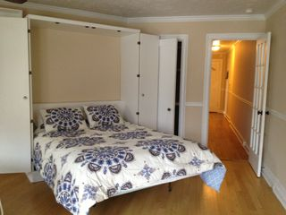 Bronxville studio photo - Murphy bed down