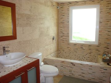 Master bedroom bathroom (2 in the house)