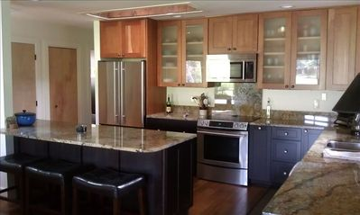 fully equipped gourmet kitchen!