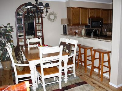 View of Dining Area and Kitchen Bar Area