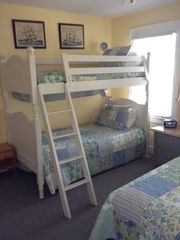 Bald Head Island house photo - Heavy duty bunks with real twin mattresses- not the cheap bunk mattresses!!