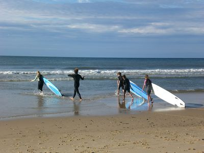 Families enjoy Surfing, Swimming, Fishing, Sailing, Biking and Hiking in Montauk