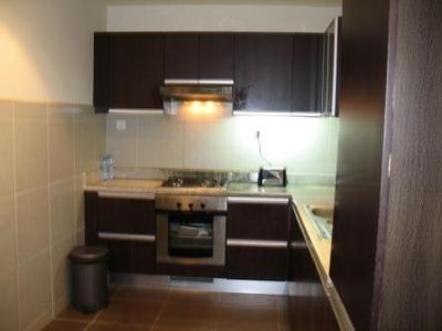 Fully equipped Kitchen with Fridge, Washing & Dish Washing Machines