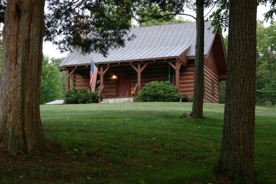 Virginia Log Cabin At Natural Bridge Homeaway Natural