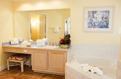Master Bathroom at the Grande Villas Resort