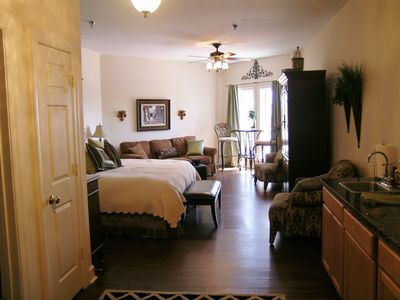 View of the spacious condo as you walk in the door. Time to start your vacation!